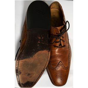 Cole Haan Shoes - Cole Haan Benton Leather Wingtip Derby II